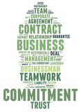 Business commitment Stock Images