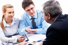 Business communication Stock Photography