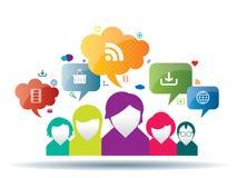 Business communication Stock Image