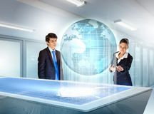 Business and communication innovations Stock Images