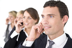 Business Communications Stock Photo