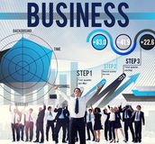Business Company Corporate Enterprise Organisation Concept.  Stock Photo