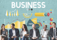 Business Company Corporate Enterprise Organization Concept Stock Image