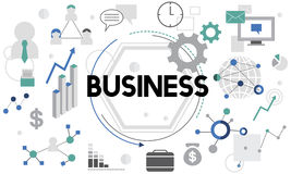 Business Company Corporation Commercial Concept Stock Image