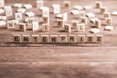 Business company corporation enterprise. Business company conceptual word collected of elements of wooden elements with the letters stock photos