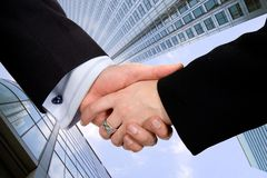 Business company deal Stock Photo