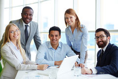 Business company Stock Image