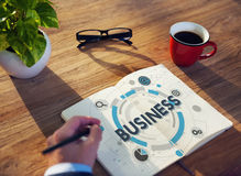 Business Company Organization Corporate Strategy Concept Royalty Free Stock Photos