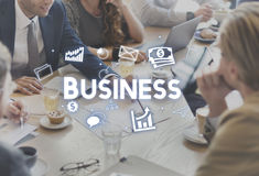 Business Company Strategy Vision Organization Concept Royalty Free Stock Photos