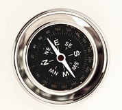 Business Compass. A metal compass for mountain exploration Royalty Free Stock Photography