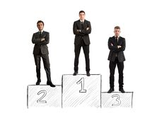 Business competition Stock Photography