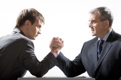 Business competition Royalty Free Stock Image