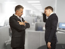 Business competition, conflict concept Stock Photography