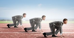Business competition Royalty Free Stock Photo