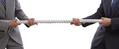 Free Business Competition Tug Of War Stock Photography - 32670422