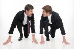 Business competition. Royalty Free Stock Photo