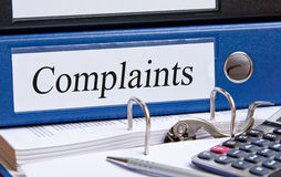 Business complains folder