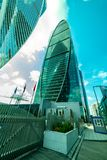 Business complex -Empire — 60-storey skyscraper, combining class A office space , apartments and public spaces. City the Moscow .Business complex -Empire stock photos