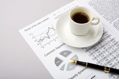 Business composition Royalty Free Stock Photo