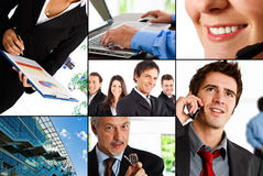 Business composition Stock Photography