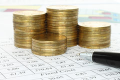 Business composition Royalty Free Stock Images