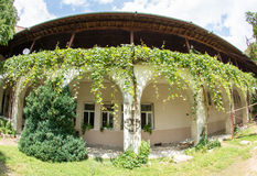 Business Compound in Bachkovo Monastery in Bulgaria royalty free stock image