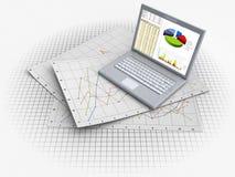 Business computer Stock Photos