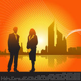 Business concept 1 vector Stock Photography