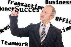 The business concept Stock Photo