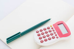 Business concept for accountant and student. Stock Photo
