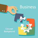 Business concept background Royalty Free Stock Photos