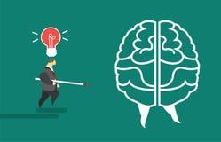 Business concept brain Stock Image