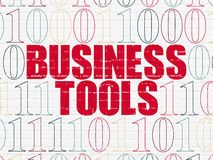 Business concept: Business Tools on wall Royalty Free Stock Photos