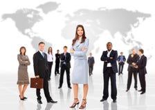 Business concept business woman Stock Photos