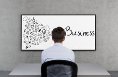 Business concept Royalty Free Stock Photography