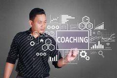 Coaching in Business Concept royalty free stock photo