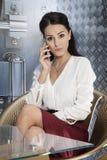 Business concept - businesswoman Stock Photos