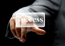 Business concept button Stock Image