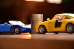 Business concept car insurance or sell and  buy car, car financi Stock Photography