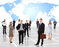 Business concept colleague Royalty Free Stock Photography
