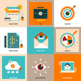 Business concept collection Royalty Free Stock Photography