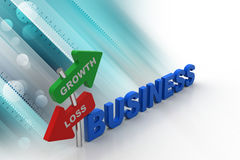Business concept stock illustration