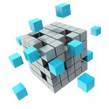 Business concept cube Royalty Free Stock Images