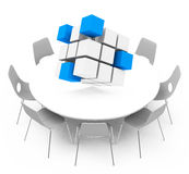 The business concept. 3d generated picture of a business concept Royalty Free Stock Images