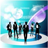 Business concept design Royalty Free Stock Images