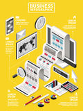 Business concept design Stock Images