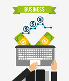 Business concept design Royalty Free Stock Photography