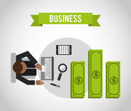 Business concept design Royalty Free Stock Photo