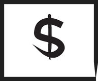 Business Concept dollar sign Stock Images