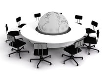Business concept. Financial conference. Business concept, Financial conference. 3d render Stock Images